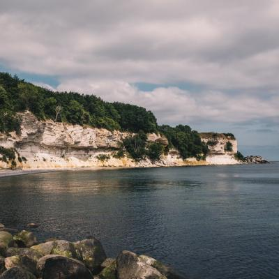 The UNESCO world heritage site Stevns Klint