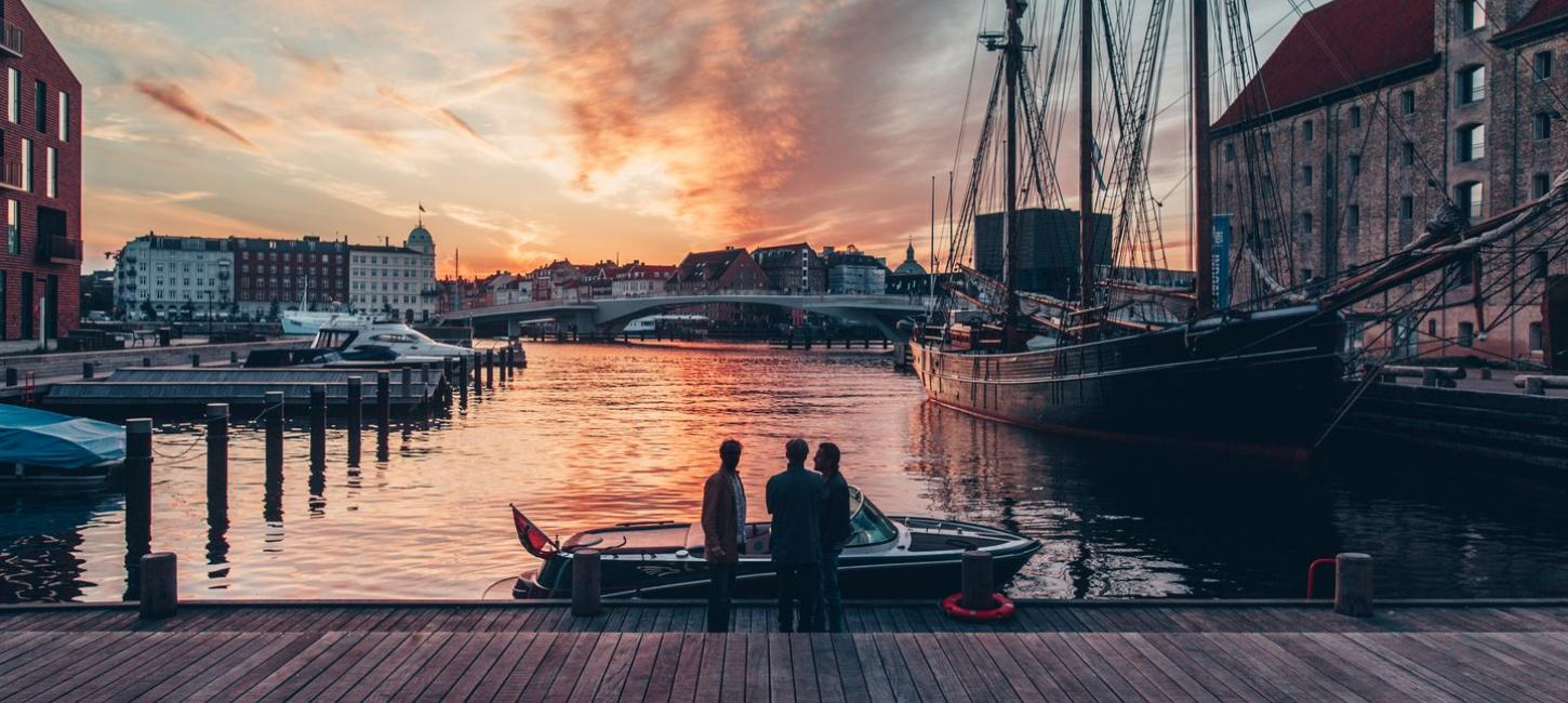 Copenhagen sunset