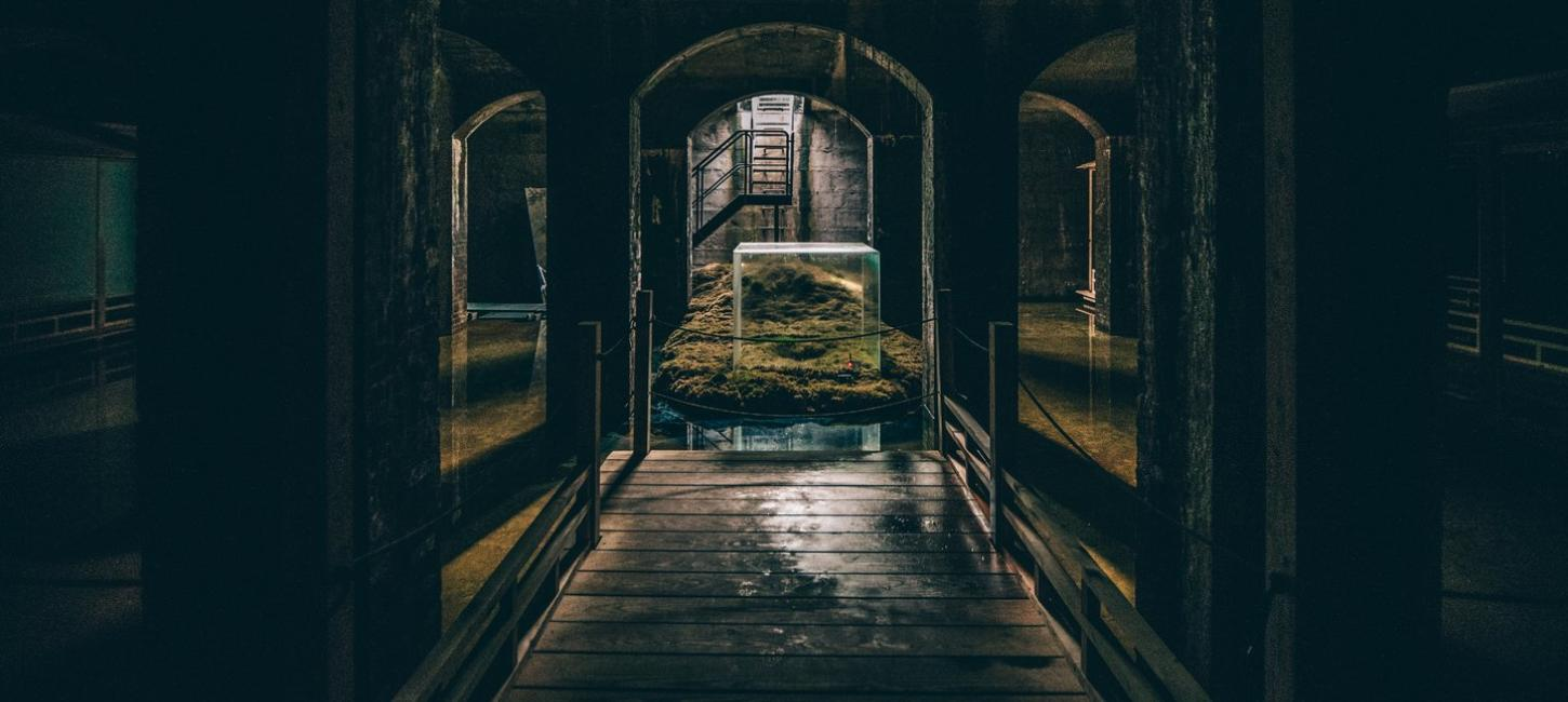 Go under ground at the cisterns in Copenhagen