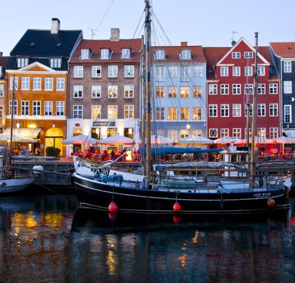 Colorful Nyhavn in Copenhagen