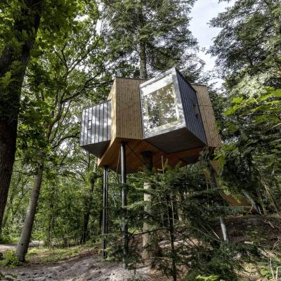 Løvtag treehouse